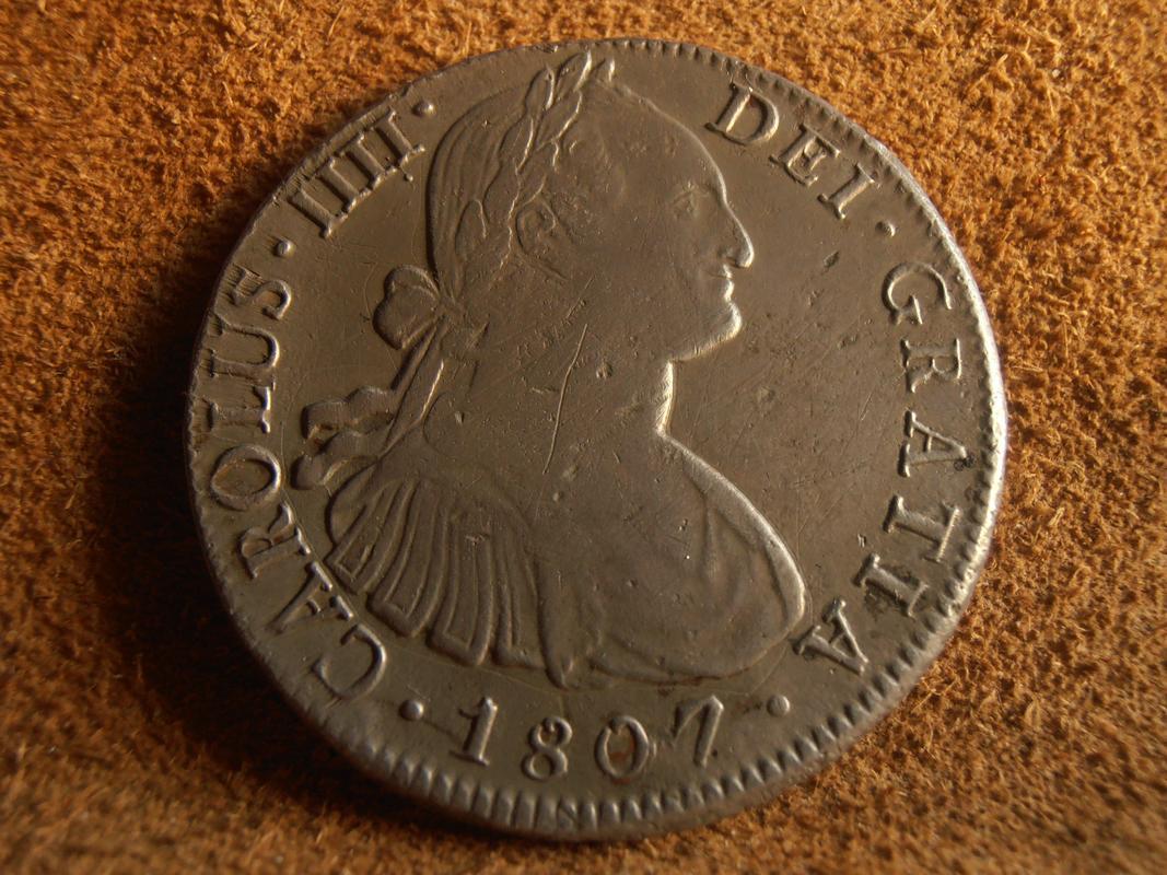 8 Reales 1807. Carlos IV. México PA270028