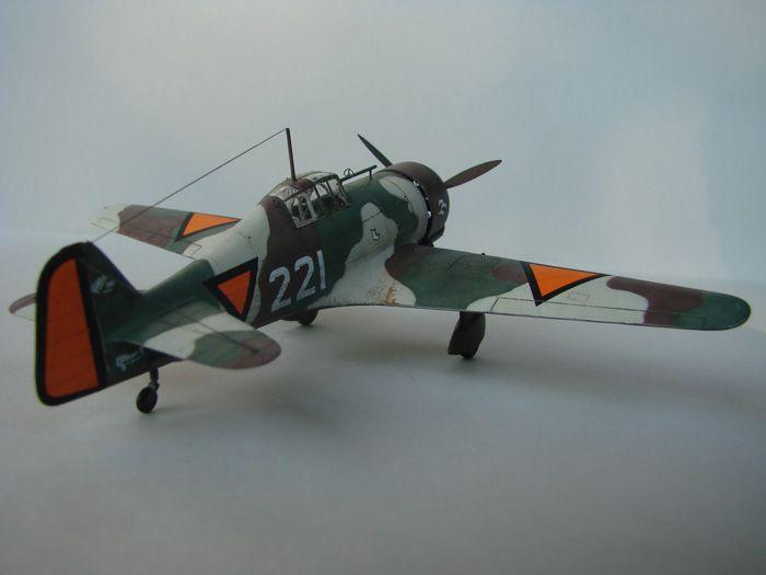 Fokker D.XXI, MPM, 1/72 DSC04179