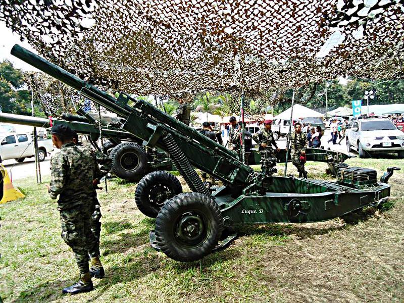 EJÉRCITO DE HONDURAS (E.H). - Página 5 1er_BAC_Obus_Howitzer_105_mm