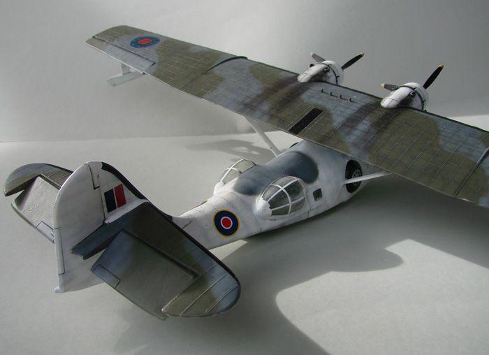 PBY-5A Catalina, REBUILD ,Airfix, 1/72 DSC04308