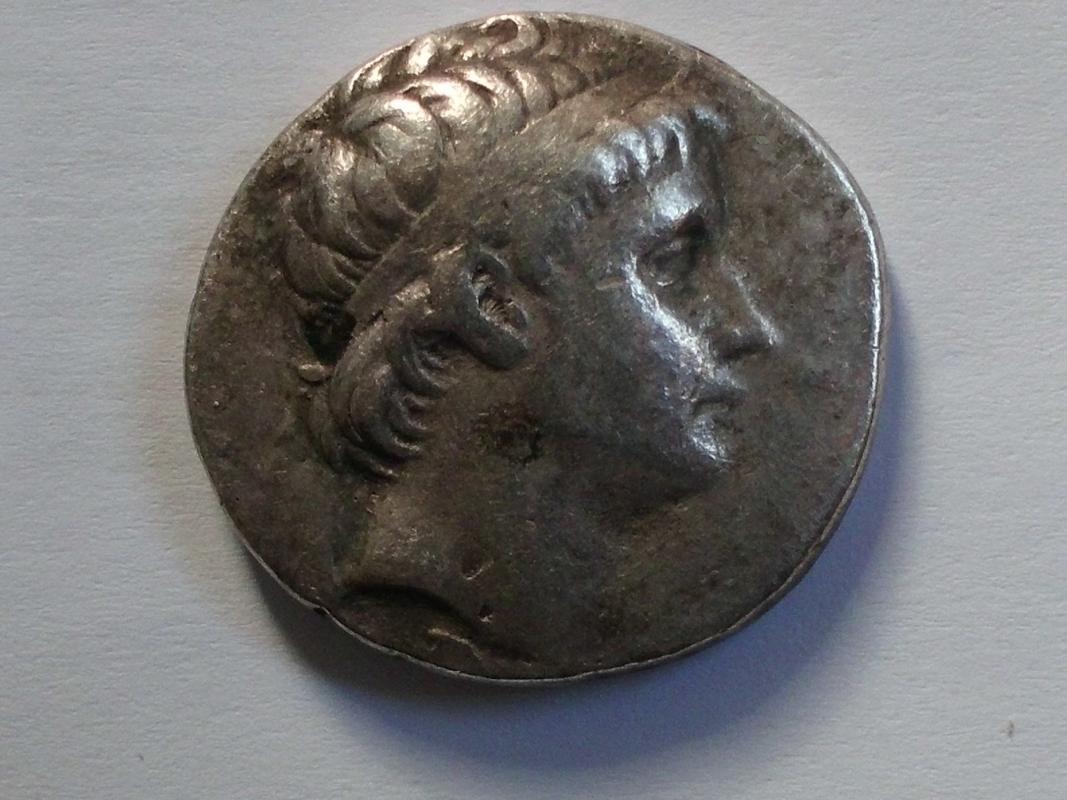 Tetradracma de Seleuco II Kalinicos. Antioquía CIMG3239