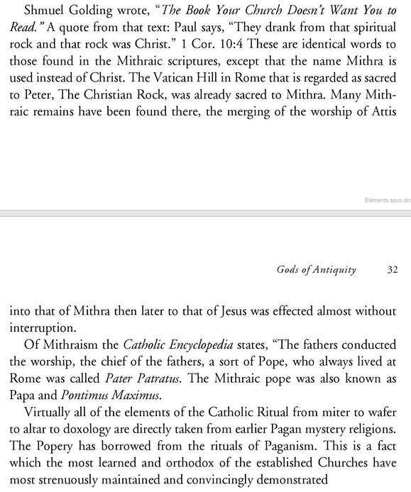 Mithra et Jésus Image