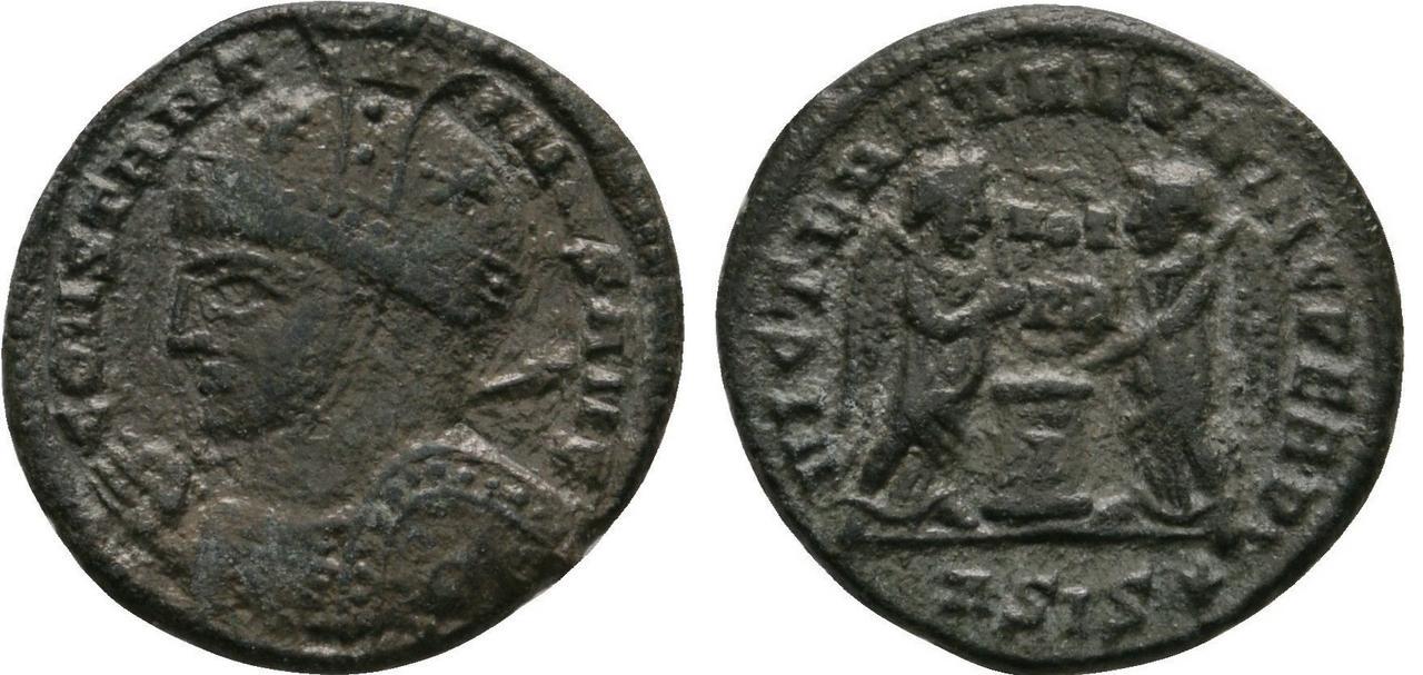 AE3 de Constantino I. VICT LAETAE PRINC PERP. Constantino_i