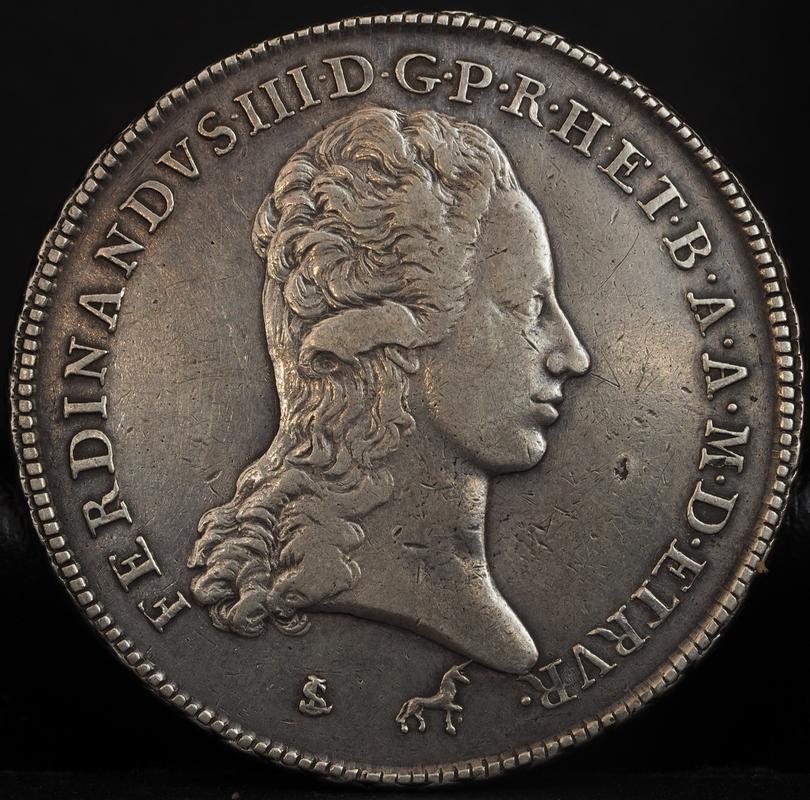 Francescone (10 paoli),1798 Fernando III de Toscana. PA020321