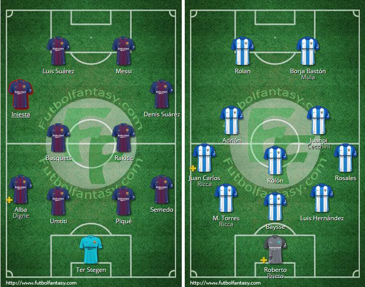 LIGA J9ª: FC BARCELONA vs MALAGA CF (Sab 21 Oct 20:45 / BeinSport) MCF_PARTIDO_2
