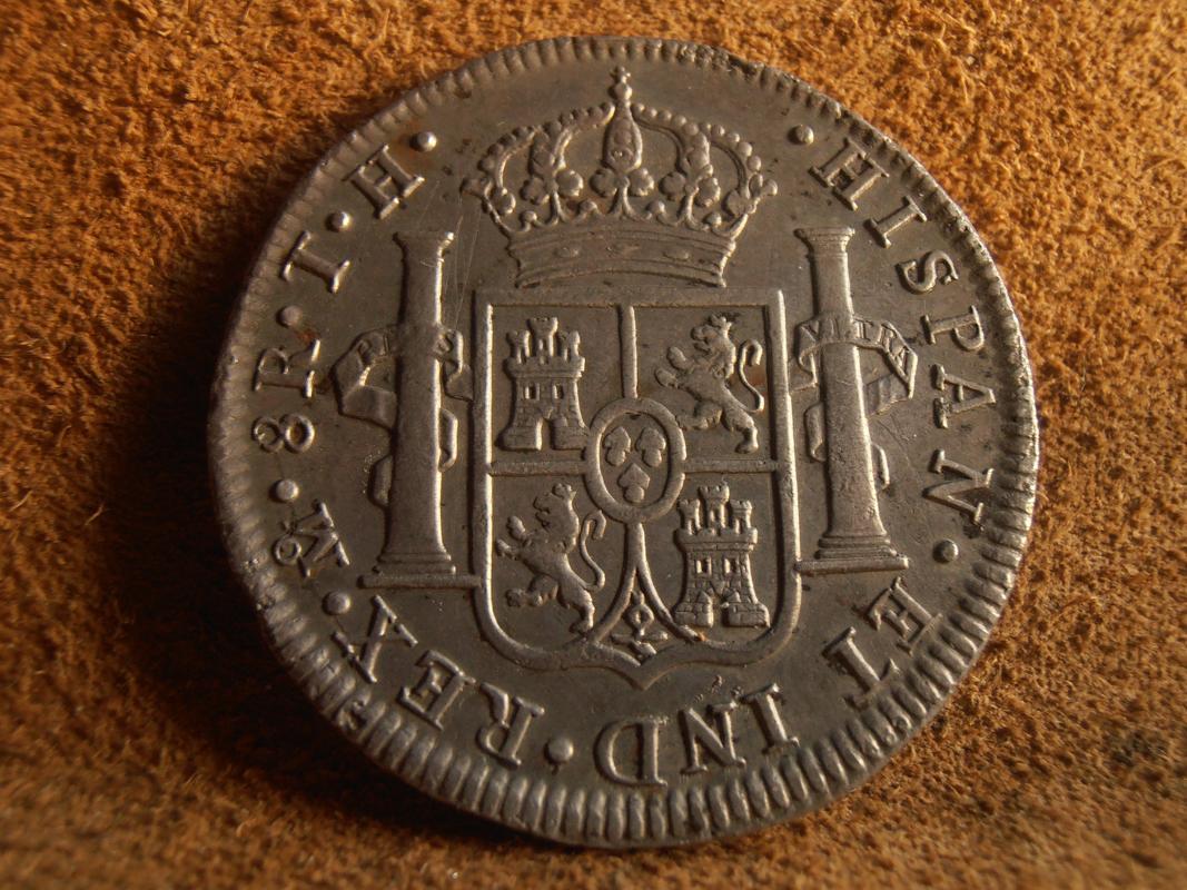 8 Reales 1807. Carlos IV. México PA270029