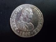 ½ Real 1.808. Fernando VII  ( busto imaginario ) Méjico  DSCN1774