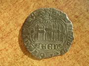 Cuarto de Enrique IV de Castilla 1454-1474 Jaén IMG_9690