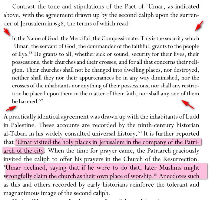 Umar Bin Khattab:Tolérance envers les juifs et chrétiens Image