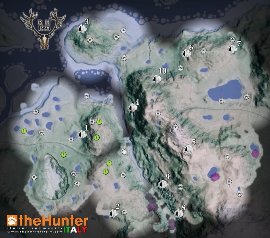 Missioni Medved Taiga: Guida Bronze Age e altre caverne Mappa_caverne_2