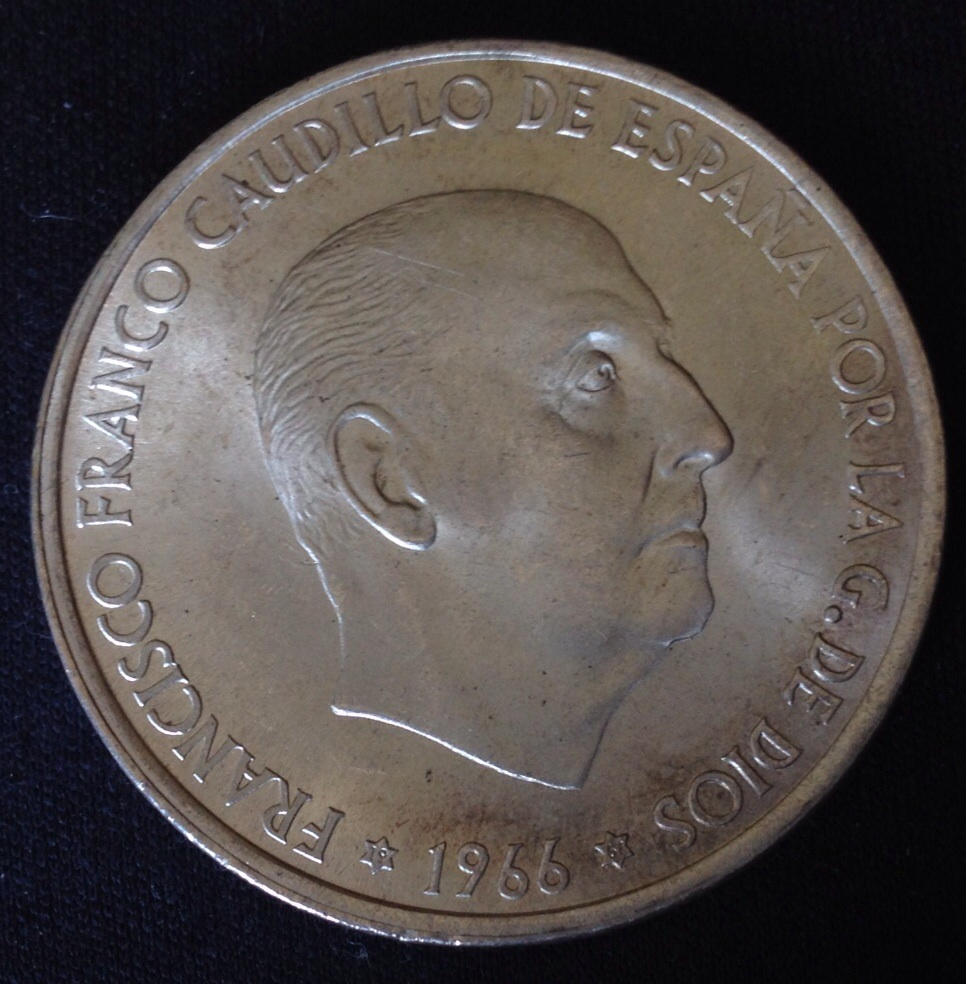 100 pesetas 1966 (*19-67) Tipo 2. Estado Español Image