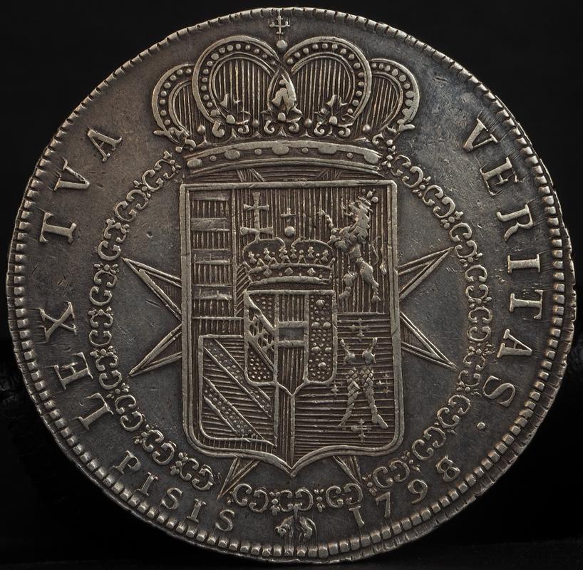Francescone (10 paoli),1798 Fernando III de Toscana. PA020322
