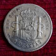 2 pesetas 1894. Alfonso XIII IMG_20171016_115914
