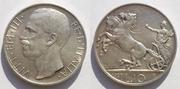 ITALIA - 10 Liras 1927 Italia_10_Liras