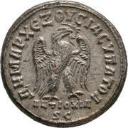 Tetradracma de Filipo I El Árabe. Águila estante a dcha. Ceca Antioquía (Siria). 57-46