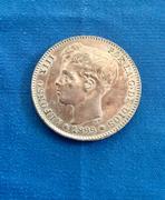 1 peseta de Alfonso XIII 1899 SGV. Opinión estado conservación  IMG_5066