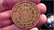 8 Escudos  1809 Santiago  Busto Almirante IMAG1980
