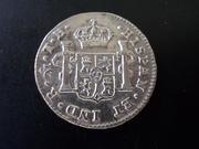 ½ Real 1.808. Fernando VII  ( busto imaginario ) Méjico  DSCN1798