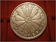 1000 Pesos Uruguay 1969 FAO P4070949