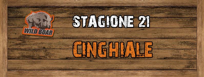 Cinghiale - ST. 21 CINGHIALE