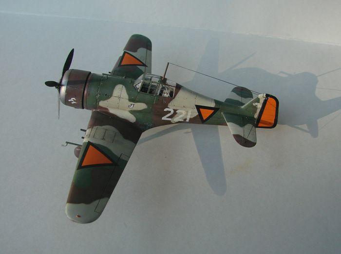Fokker D.XXI, MPM, 1/72 DSC04172