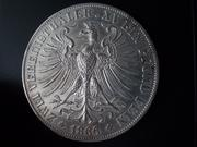 2 Vereinsthaler 1.866 de la ciudad libre de Frankfurt DSCN1880