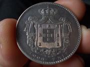 1.000 Reis de María II, Portugal DSCN0805