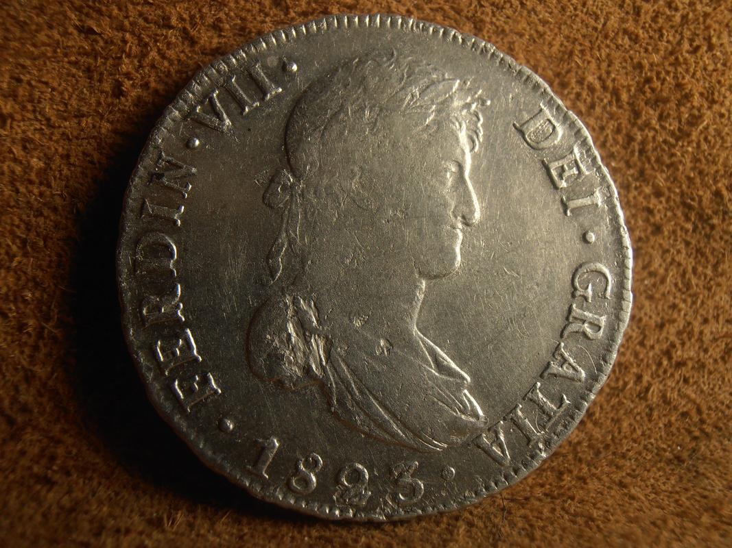 8 Reales 1823. Fernando VII. Potosí PA150013