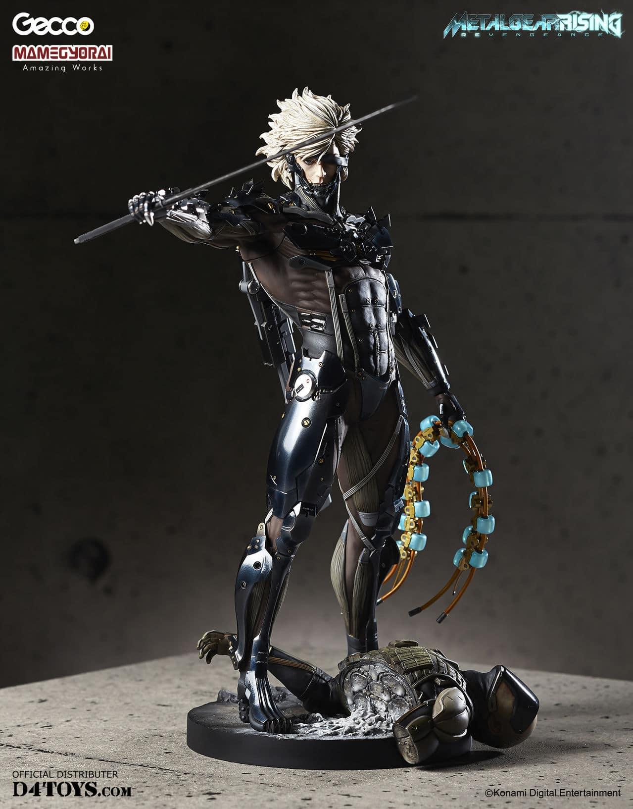 [Gecco,  Mamegyorai] Metal Gear Rising: Revengeance - RAIDEN White Armor 1/6 - SDCC2015 Exclusive - Página 2 D4_001