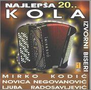 Slobodan Bozinovic -Diskografija NAJLJEPSA_20_KOLA_Front