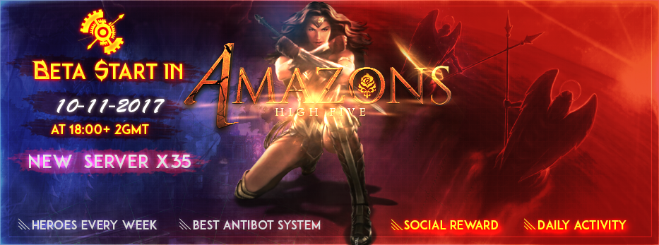 L2 Amazons Grand Opening in 17-11-2017! Openbeta1