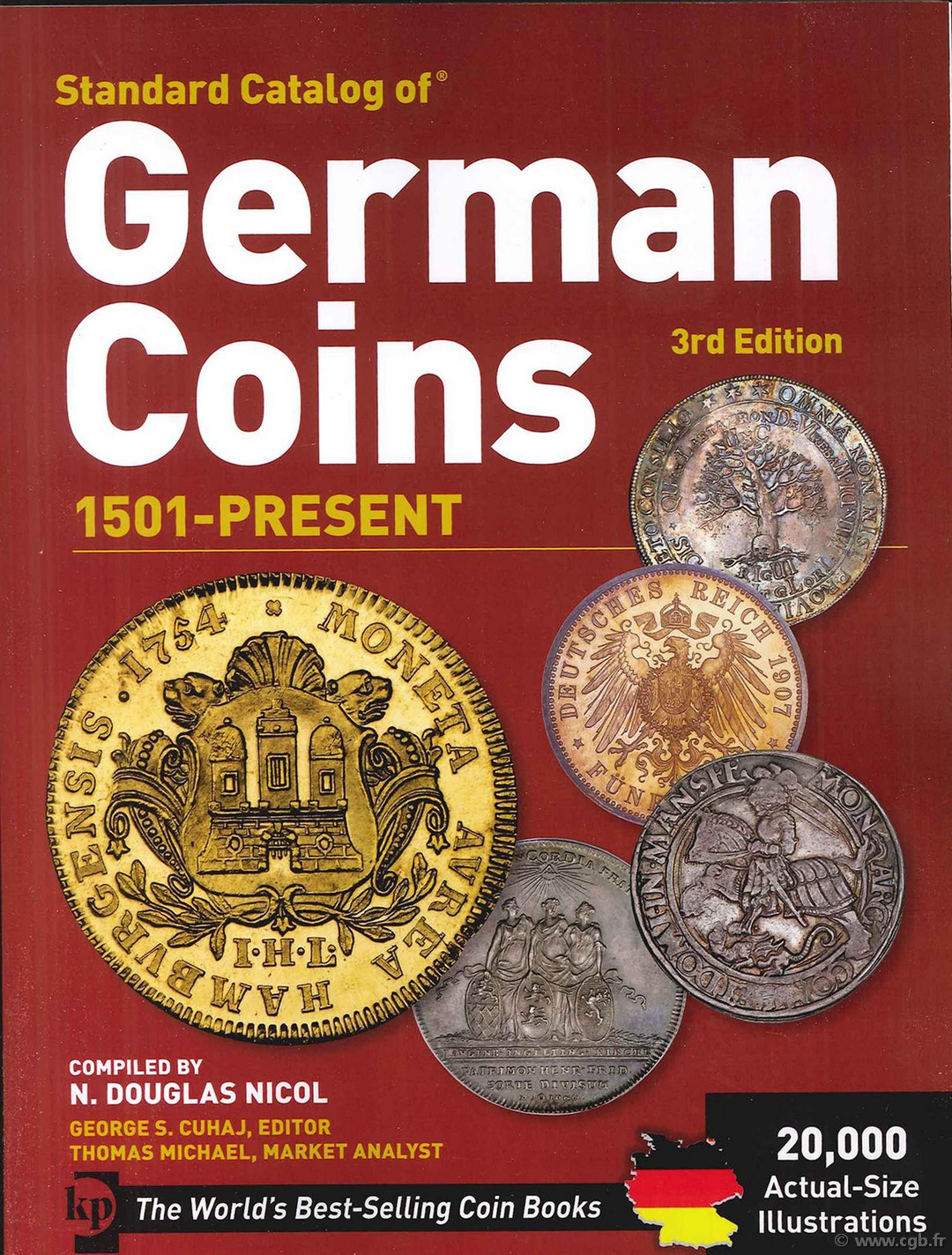 2011 Standard Catalog Of German Coins 1501-Present KRAUZE_GERMAN_COINS