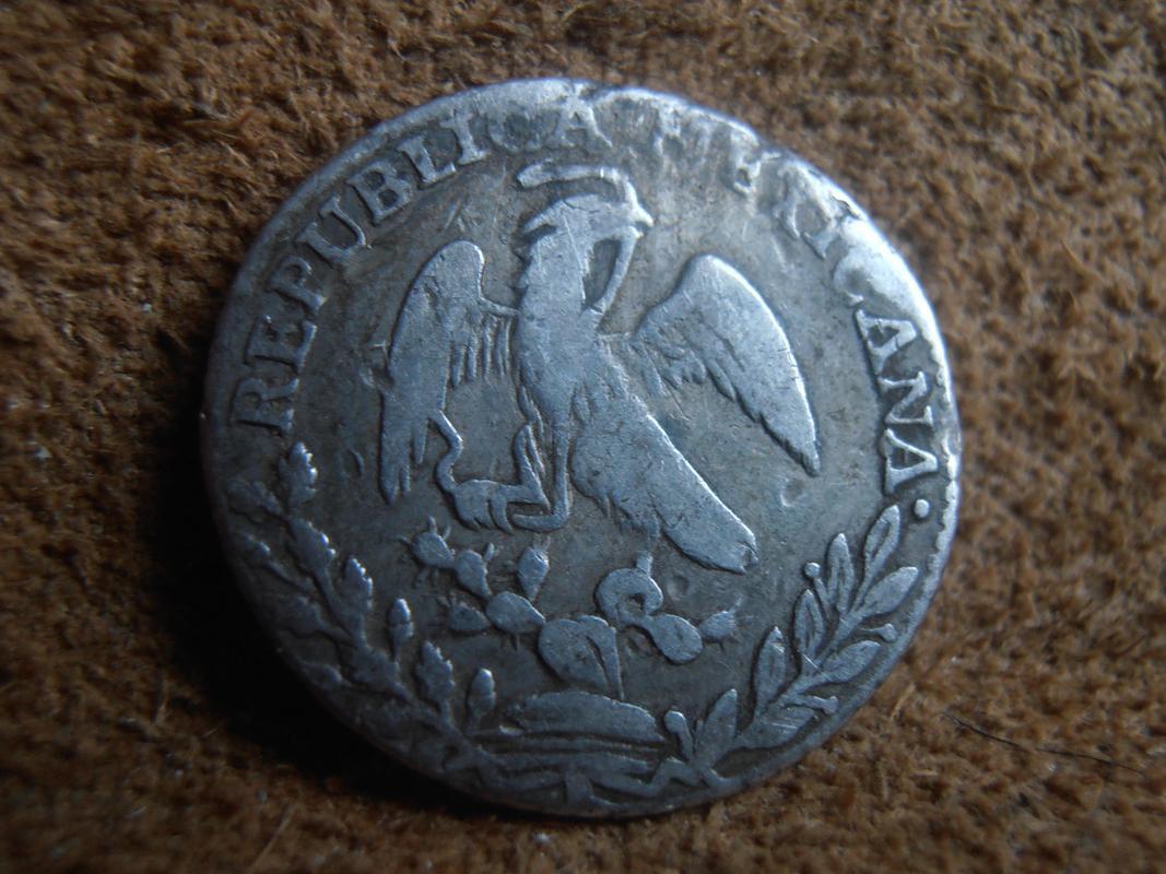 1 Real 1827 México P9280013