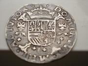 Quinto de Escudo 1.567  Brujas  (Flandes) , Felipe II DSCN0712