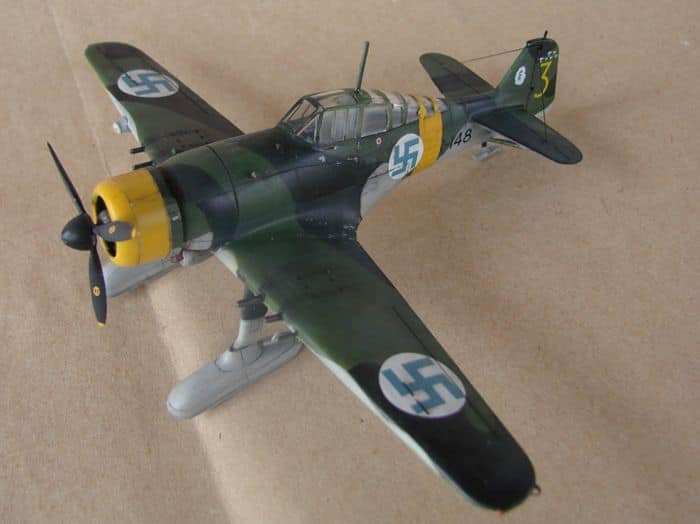 Finski Fokkeri D.XXI, Special Hobby, 1/72 DSC01479