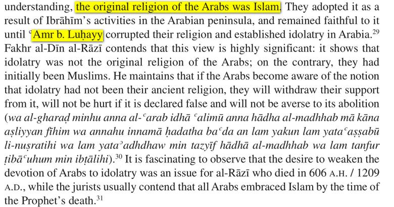 qui a corrompu le Religion D'Abraham ? Image
