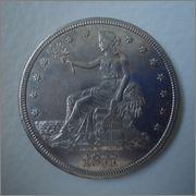 Trade Dolar 1877s, USA Image