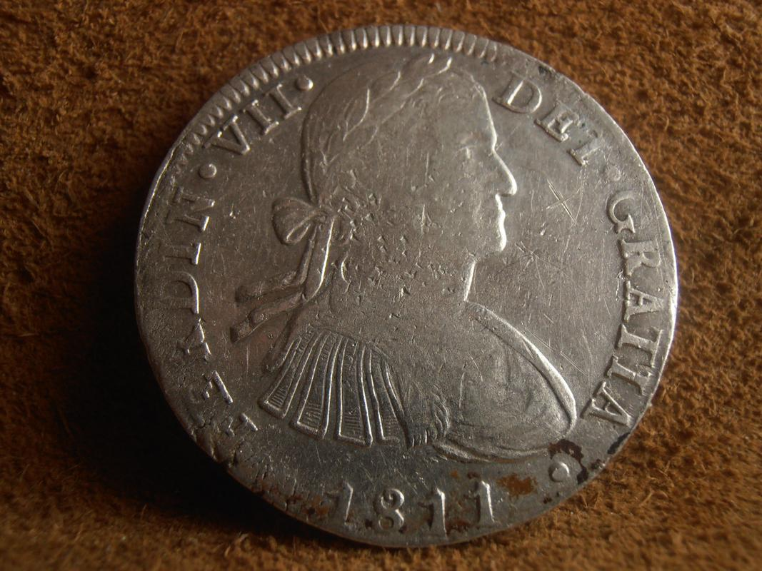 8 reales 1811. Fernando VII. México. HJ PA160001