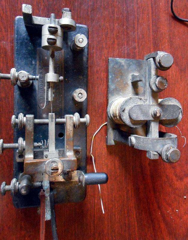 Vibroplex key circa 1916 DSCN8286s