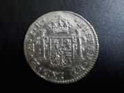 ½ Real 1.808. Fernando VII  ( busto imaginario ) Méjico  DSCN1772