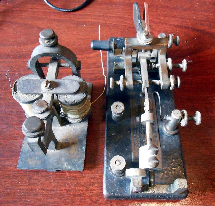 Vibroplex key circa 1916 DSCN8287_S