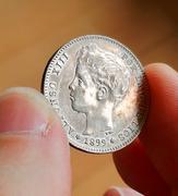 1 peseta de Alfonso XIII 1899 SGV. Opinión estado conservación  IMG_5075