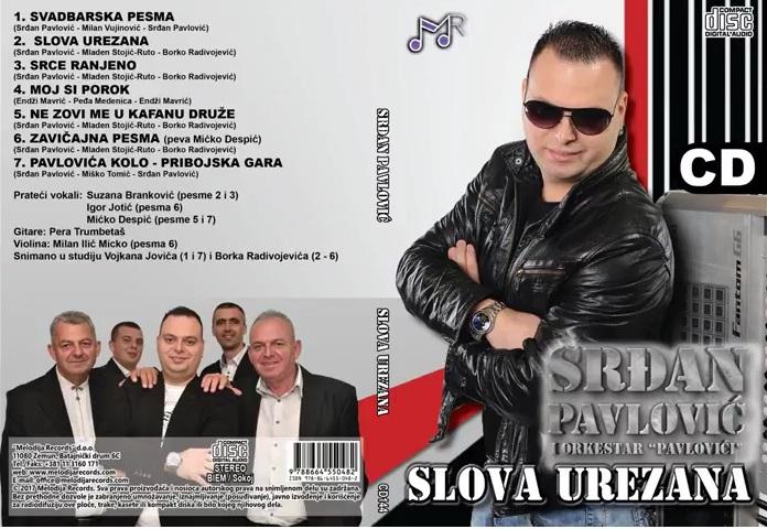 Srdjan Pavlovic 2017 - Slova urezana Folder