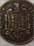 peseta 1947, estrella 46 Peseta_1947_46_amp