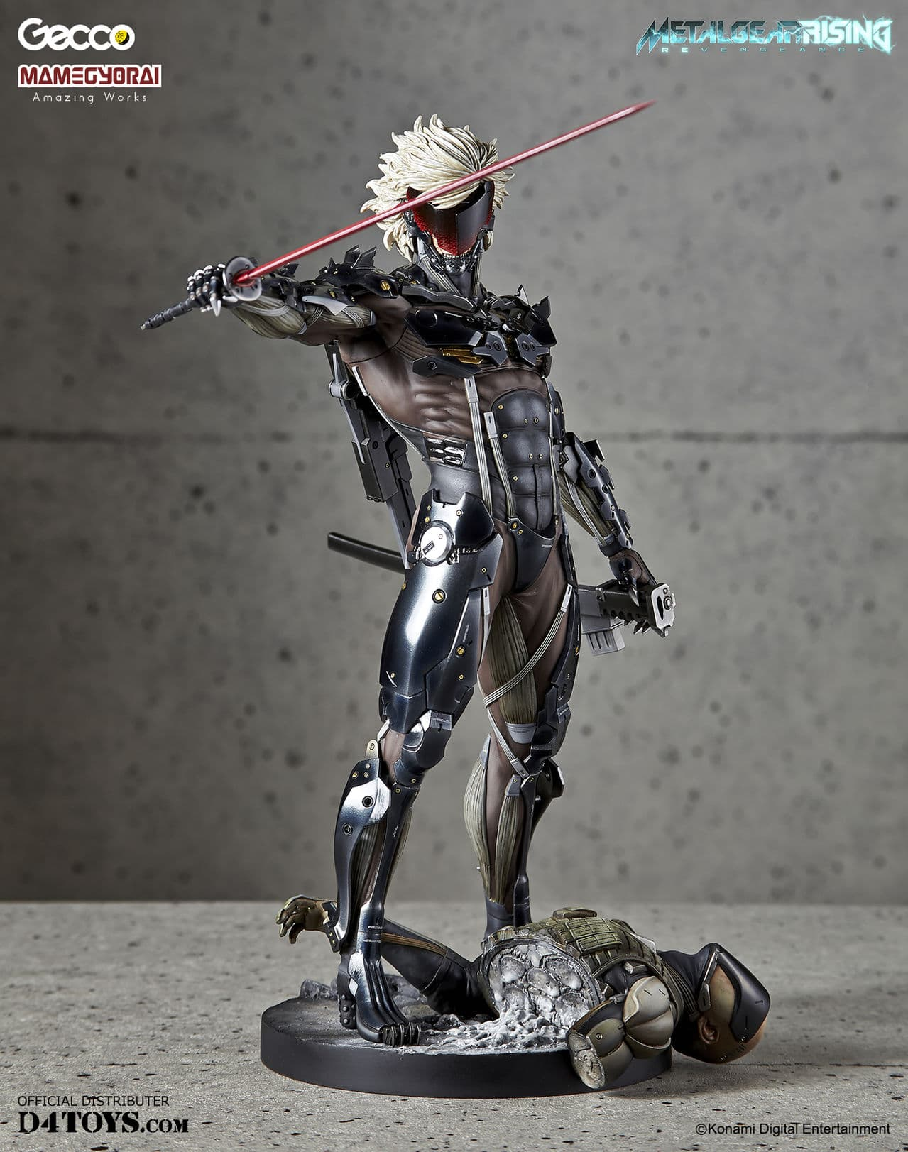 [Gecco,  Mamegyorai] Metal Gear Rising: Revengeance - RAIDEN White Armor 1/6 - SDCC2015 Exclusive - Página 2 D4_b01