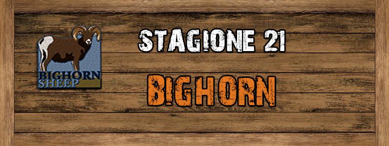 Bighorn - ST. 21 Bighorn
