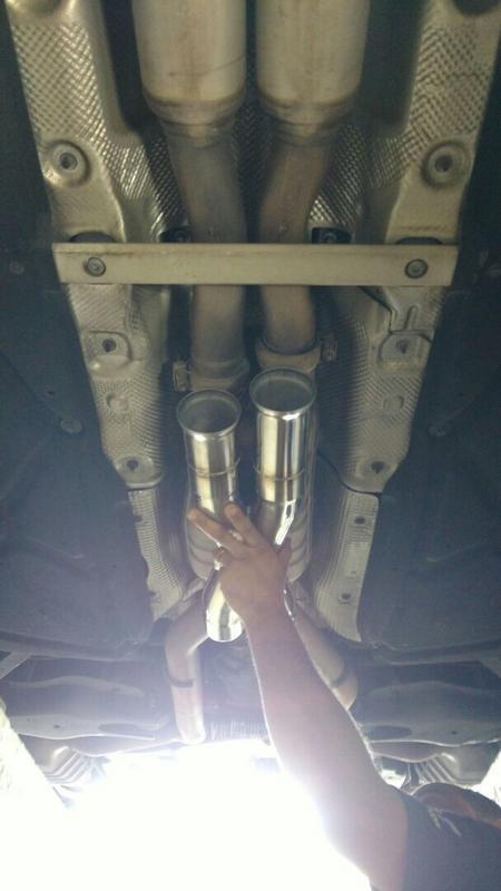 Upgrades E63 AMG - equipamentos Renntech IMG_9029