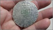 1 patagón 1638. Felipe IV. Amberes 20150220_214132