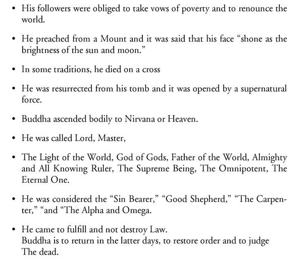 Jésus et Bouddha Image