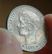 1 peseta de Alfonso XIII 1899 SGV. Opinión estado conservación  IMG_5082